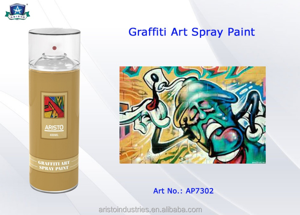 Aristo bunte graffiti sprühfarbe skiny/medium/fett graffiti kappe