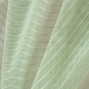 Stripe design nylon colors in stock bulk price mesh