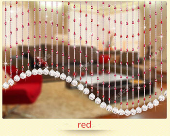 Crystal Glass Eco Friendly Beads Curtain For Hotel Store Shop Coffee Or  Home Decoration Hanging