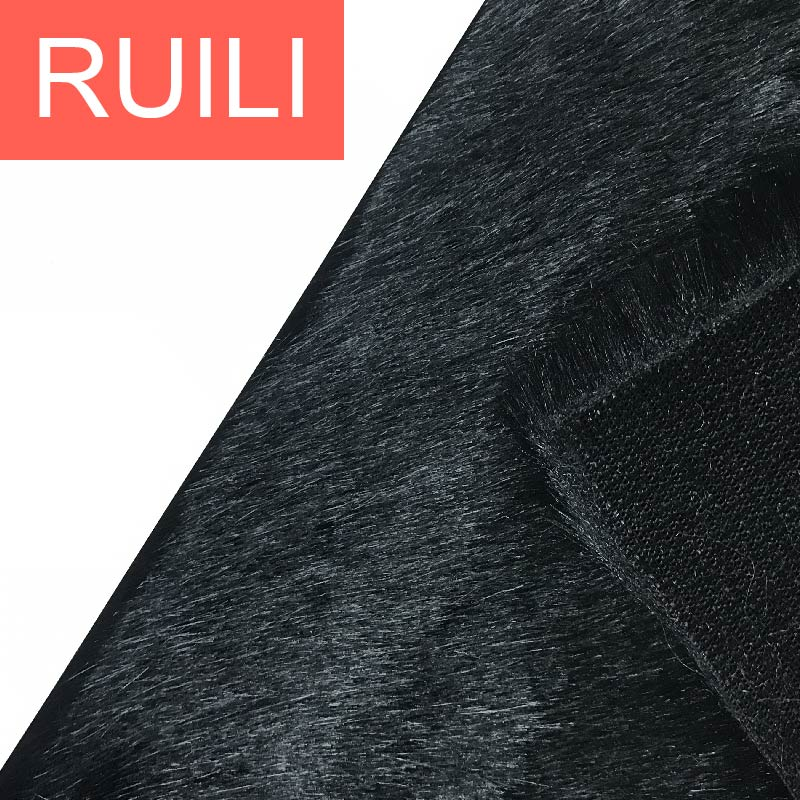 Acrylic/polyester fur used for garment artificial fur fabric