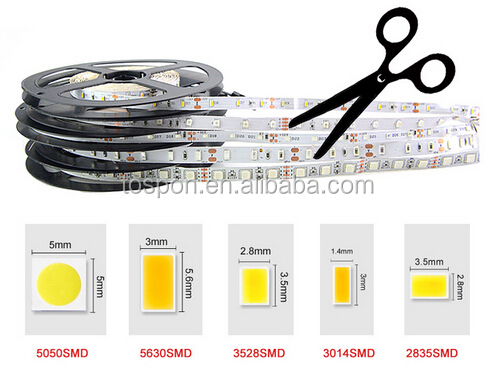China Manufactuer 2.5mm 3mm 4mm 5mm Width DC12V 24V SMD Rigid Slim Ultra thin LED Strip