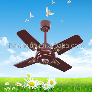 24 Short Blade Orient Decorative Ceiling Fan To India Iraq