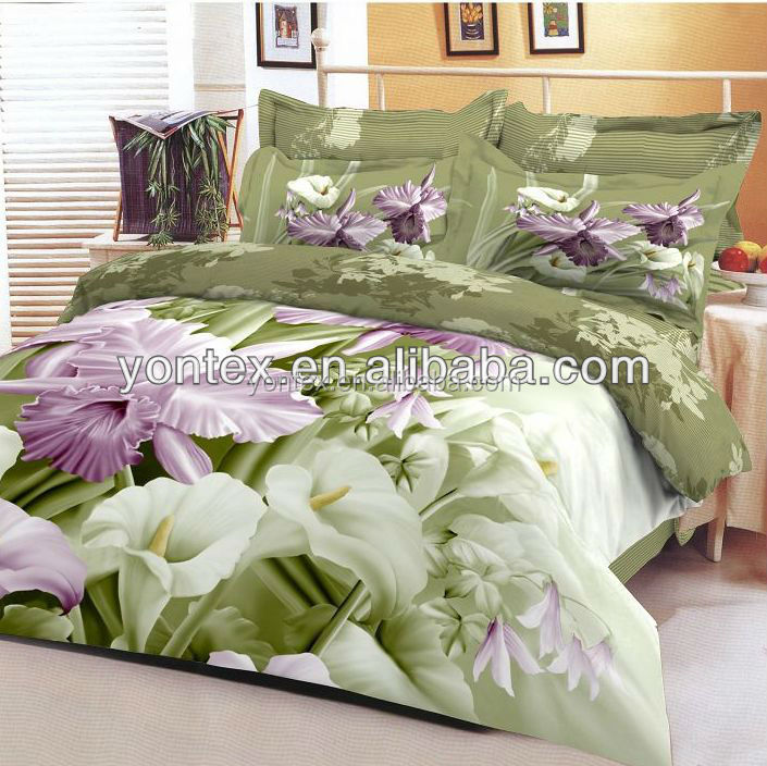 wholesale 3D printing Bed Sheet Bedding set