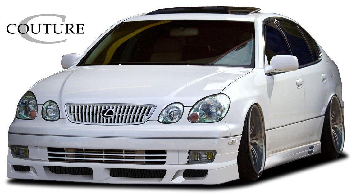 1998-2005 Lexus GS300 GS400 Aero VIP Front Bumper Lip Spoiler SplitterPlastique
