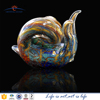 snails shaped glass animal figurines for display showcase,china art and craft supplies