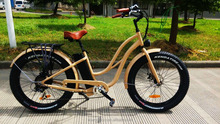 7 speed tourney ladies Muse for mountain e-bikes with brushless controller