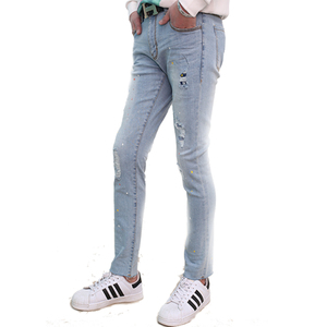 04e3df4391 Skinny Damaged Jeans, Skinny Damaged Jeans Suppliers and Manufacturers at  Alibaba.com