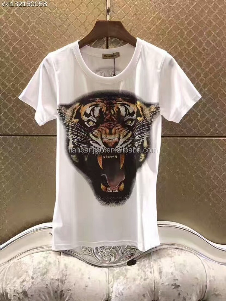 2017 best quality promotional custom design short sleeve cheap plain polyester fabric blank whitet t shirt