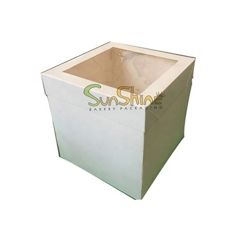 Custom printed food grade factory cake box packaging