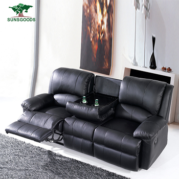 Top Quality Double Recliner Sofa Chaise Lounge Recliner Sofa China