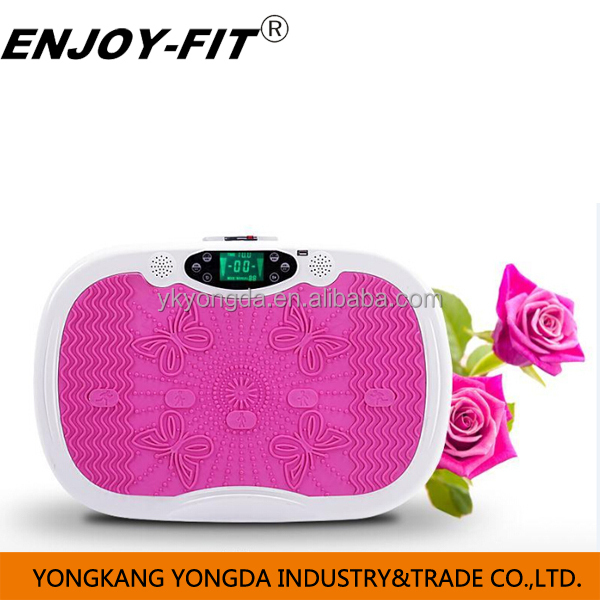 Fitness EQUIPMENT massage Crazy fit massage MP3 with large LCD screen