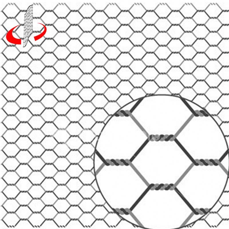 "Chine Usine Anping 1/4 ""Hexagonal Wire Mesh"