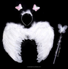 fairy party wing set with headband & wand