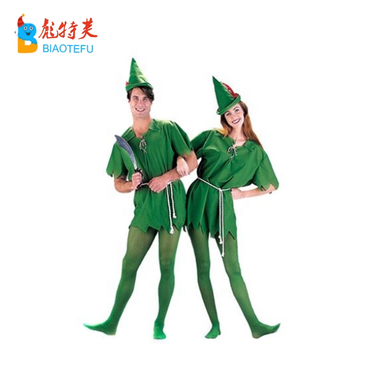 Adult Unisex Peter Pan cosplay fancy dress costume