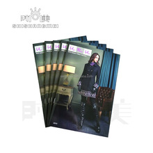 Supply printing garment books brochure magazine printing booklet catalog