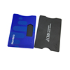 Private mode blocking card holders for credit card bank card saving cards
