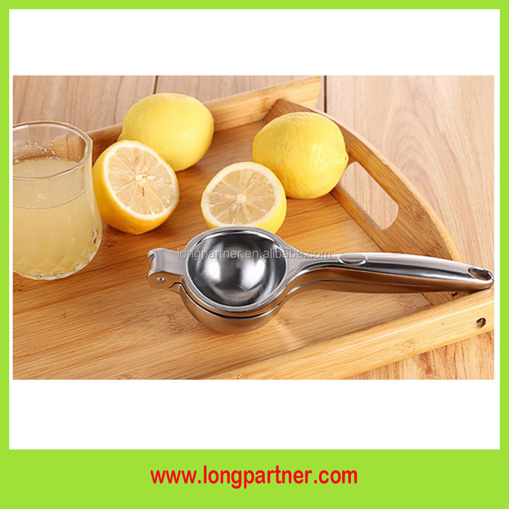 Hot sales in amazon Large size Hand lemon squeezer stainless steel