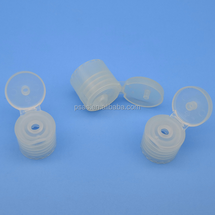 18/410 PP plastic screw type flip top cap plastic cover