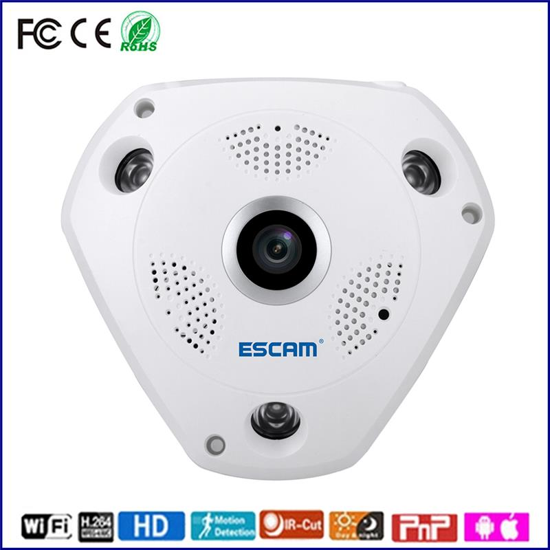 ESCAM wi-fi based camera security home 960p wifi video camera ip outdoor