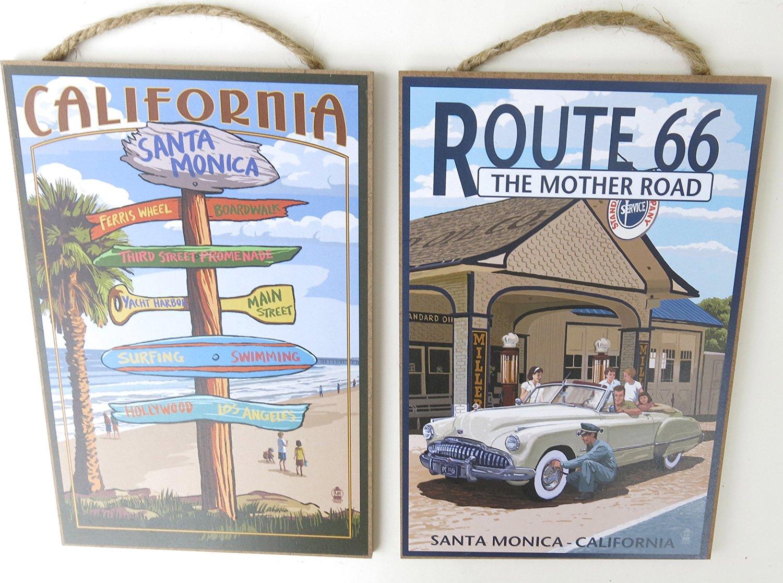 Buy Santa Monicaroute 66 The Mother Road California Souvenir