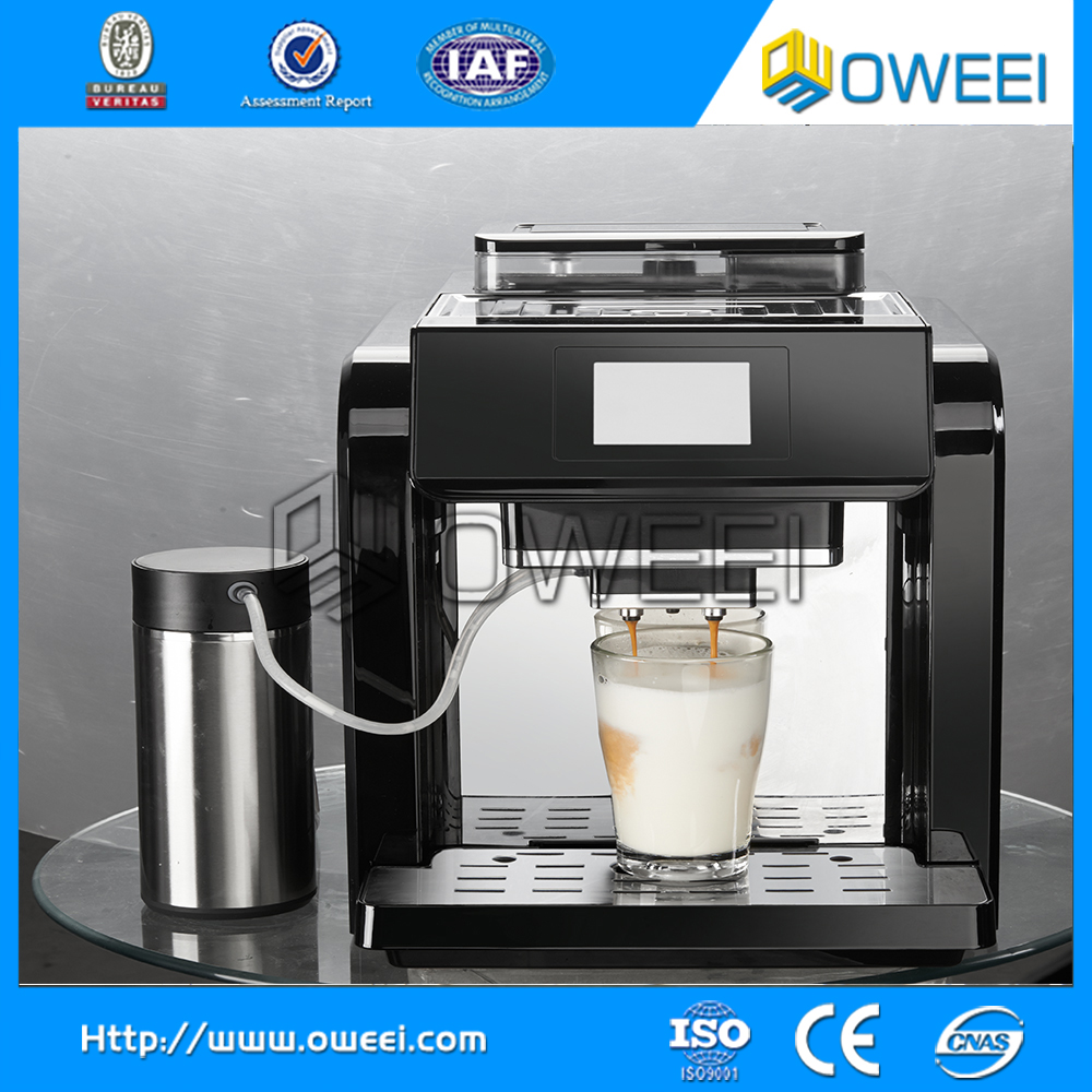 Professional Fully Automatic Commercial Coffee Machine ...