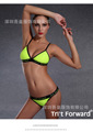 Top Bikini 2016 Set Push up Swimwear Brazilian Beach bathing suit Sexy Sling Halter Two piece