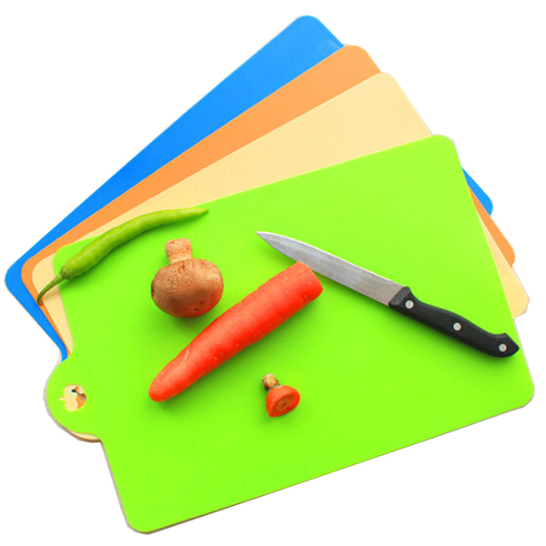 Get Quotations 1pc Chopping Blocks Candy Color Flexible Thin Board Portable Kitchen Cooking Tools 35 24cm