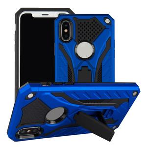 HAISSKY Hybrid Military Card Holder Stand Armor Kickstand Phone Case for iphone 6 7 8 x
