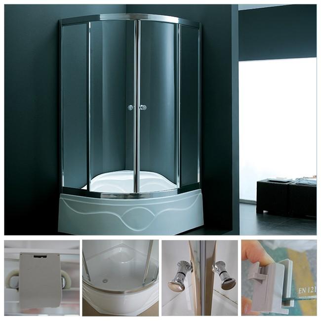 Safety Glass Corner Walk In Tub Bath Shower Combo - Buy Walk In ...