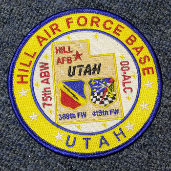 Customized air force embroidery emblem patch