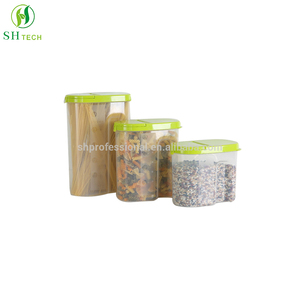 Clear Acrylic Food Dispenser Plastic Food Cereal Storage