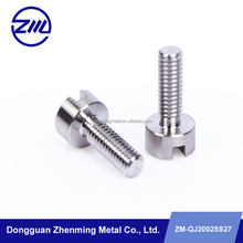 cnc precision turning parts Slotted cheese head screw alibaba hot product