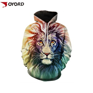 Hot sale custom sublimation 3D printed fashion streetwear hip hop polyester oversized mens hoodies sweatshirts