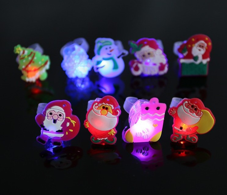 Promo LED Acrylic Light Ring Toy For Kids