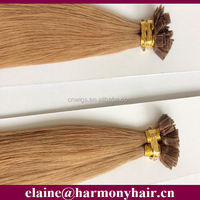 Ombre color Italian keratin fusion tip 100% remy human hair extension