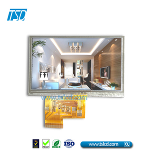 small size 4.3 inch advertising tft lcd screen with RGB interface