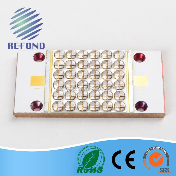 UV LED 400nm COB high radiation for gel curing ink curing system
