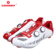 Ultra light Carbon fiber bike cycling Shoes for Men