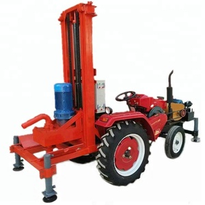 150m deep tractor mounted diesel water well rock drilling machine water well drilling rig