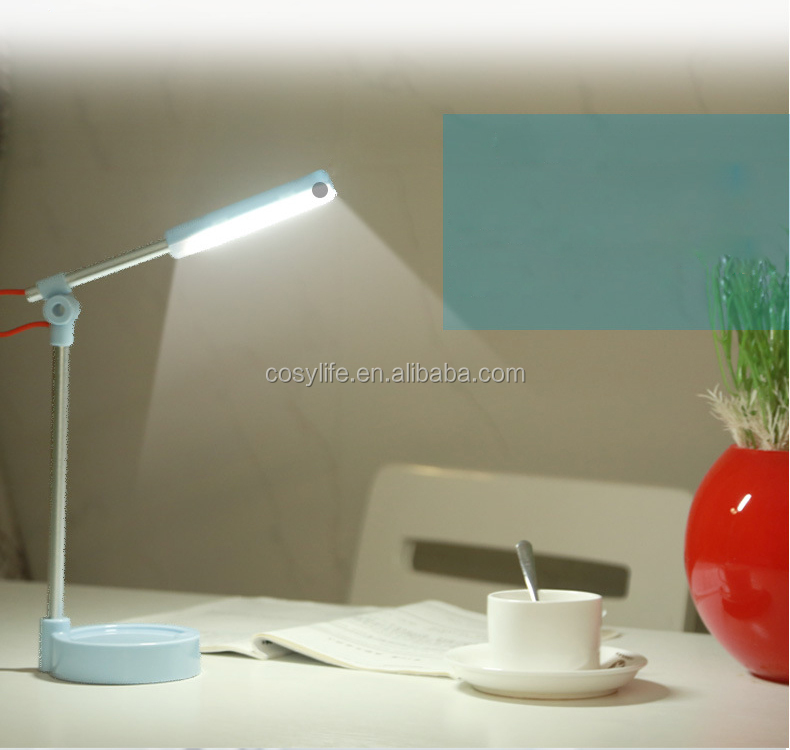 Classic ABS Eye-protection Table Lamp With USB For Studying Energy Saving Night Light Desk Lamp