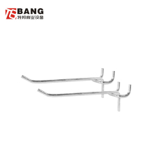 Skillful manufacture metal supermarket display hooks hanging hooks