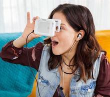 2016 New Folding VR Case Virtual Reality 3D Glasses Case Virtual Reality Mobie Phone Case for