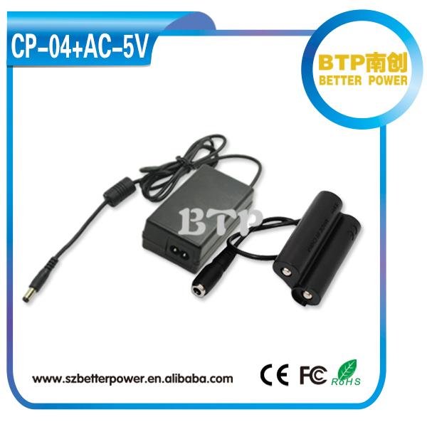 CP-04 Acoplador De Batería Para Uso Con Adaptador de CA para Cámara Fuji S2000HD S2500HD