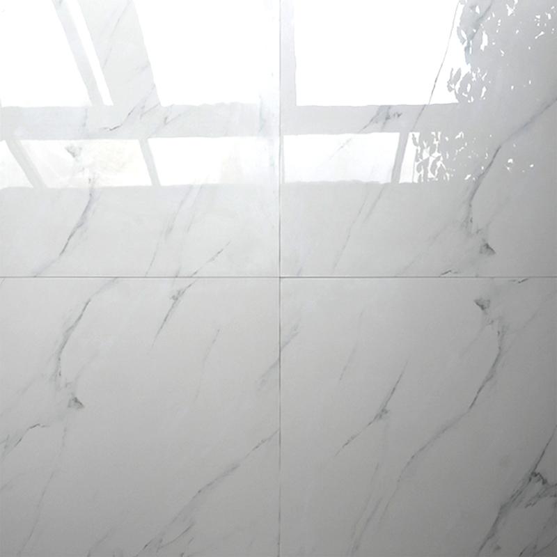 Hb6253 Large White Ceramic Porcelain Floor Tiles Super 60x60 In Foshan