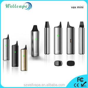 High performance 3000mah vax mini e cig dry herb vaporizer evod tank