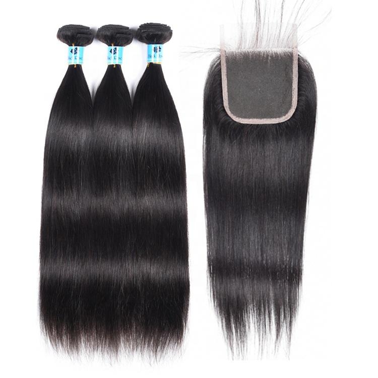 Wholesale Virgin Hair Vendors Factory Price With Cuticle Aligned Hair Unprocessed Raw Peruvian Hair Bundles With Closure, 2# 4# 30# 33# 99j# 1b/30# 1b/99j# 1b/burg# 1b/27#