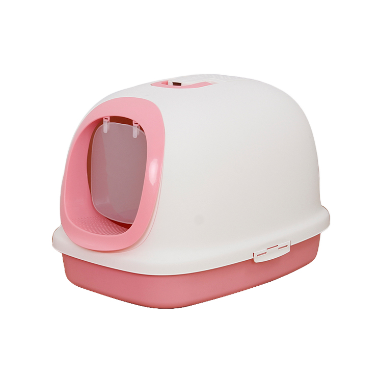 <strong>Pet</strong> Clean Up Products Plastic Large Space training self cleaning Cat Toilet, Cat Litter Box