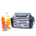 New arrival outdoor drink food insulated picnic bag aluminium cooler lunch bag With Bottom Price