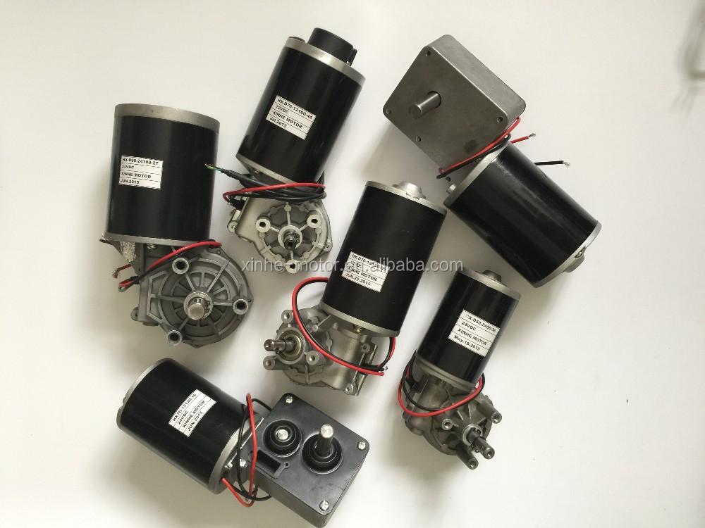 Fourniture directe d'usine mini réducteur 15 tr/min moteur à engrenage à vis sans fin 24 volts