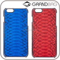 Luxury lady mobile phone case,genuine python leather phone case for iphone 6S/iphone 6S plus